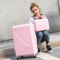 学生拉杆箱20寸小清新子母行李箱女万向轮男潮旅行箱24寸密码箱28