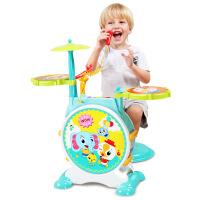 儿童玩具 大号架子鼓玩具音乐启蒙教学宝宝儿童早教益智礼盒装生日礼物