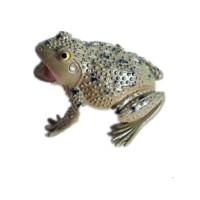 仿真青蛙模型捏捏叫动物玩具假癞蛤蟆蟾蜍道具五毒吓人整蛊爬行类