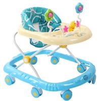 婴幼儿童宝宝学步车小孩助步车多功能带音乐可折叠女孩