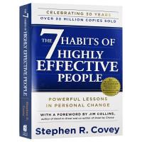英文原版 The 7 Habits of Highly Effective People 高效能人士的七个习惯 英文版原