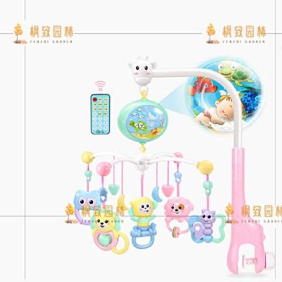 手摇铃婴儿玩具0-3-6-12个月幼儿新生儿8宝宝0-1岁男孩女孩5