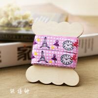 韩国卡通刺绣织带花边带布艺装饰手工DIY服装辅料