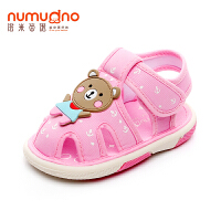 宝宝凉鞋夏季叫叫学步鞋婴儿软底0-1-2岁男女童