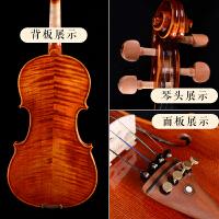 手工小提琴专业级考级演奏小提琴儿童初学者乐器