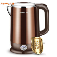 九阳 K17-W6 电水壶 多段保温 热水壶 1.7L电热水壶 烧水壶 双钢无缝