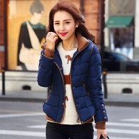 2017冬季新款女装韩版修身时尚加厚羽绒服女装短款羽绒服外套