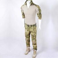 户外秀AT-FG青蛙紧身衣CP战术迷彩裤模具套服丛林军绿迷彩套装