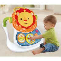 婴幼儿玩具 多功能四合一卡通防侧摔学步车玩具手推车宝宝儿童早教益智礼盒装生日礼物 如图