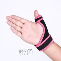 20180322185140593大拇指腱鞘受伤加压钢板固定 羽毛球篮球运动护具护手指护腕男女