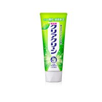 Kao 花王旗下Clear Clean 洁齿健 微细颗粒瞬间美白药用牙膏 原味薄荷 130克