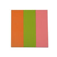 新华书店 N次贴32006混3色可再贴自粘荧光便条纸