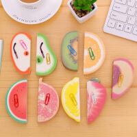 9本创意水果便签本3D立体苹果便条本便签纸无粘性可撕网红小清新学生办公用方便贴纸小本子便利贴创意造型
