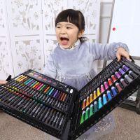 儿童画笔套装小学生水彩笔学习文具绘画用品美术工具女孩生日礼物
