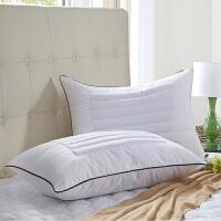 荞麦两用枕头决明子枕芯薰衣草学生单人枕一对拍2个J 白色 荞麦枕