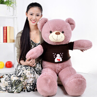 大号公仔抱抱熊抱枕泰迪熊布娃娃毛绒玩具熊猫生日礼物儿童女生