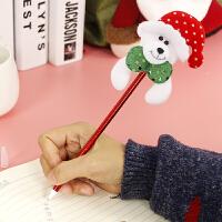 圣诞节创意卡通笔礼品圣诞树装饰品小礼物小朋友儿童老人雪圆珠笔