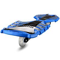 儿童两轮滑板车活力板蛇形板游龙板滑板闪光玩具