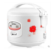 Midea/美的 YJ508J电饭煲5升迷你简易机械式电饭锅带蒸笼正品4L