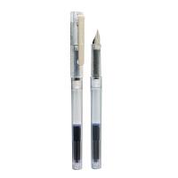 德国施耐德 BK406钢笔 透明杆 EF尖头 配蓝色墨胆
