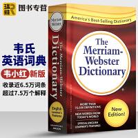韦氏英英字典 英文原版 Merriam-Webster Dictionary 新版韦氏英语词典小红 美语字典辞典 正版
