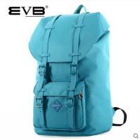 纯色户外中学生书包女大容量旅游旅行包背包防水韩版双肩包男包潮