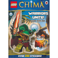 LEGO Legends of Chima: Warriors Unite! Sticker Activity Boo