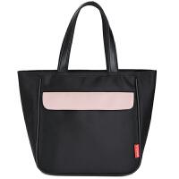 V-Coool妈咪包 休闲妈咪袋妈咪包手拎包便携小包 经典黑