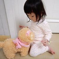 全棉小宝秋衣套装 纯棉A类儿童内衣 双层柔软棉 小码可开档 0-6岁