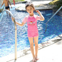 泳衣女分体运动泳装女童宝宝中大童可爱游泳衣公主泡温泉女孩