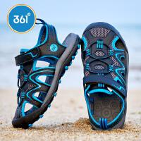 【超品到手价:95.4】361度 男童沙滩凉鞋 2018年夏季新款N71822651