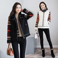 冬季新款中长款韩版休闲大码棉衣外套时尚潮流女装