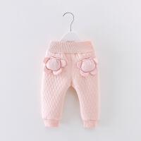 冬季新款童裤婴幼儿打底裤宝宝加绒加厚长裤女童百搭超厚棉裤