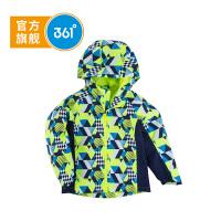 【超品日秒杀价:59】361度 男童梭织薄外套 春季K51812605