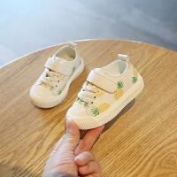 女宝宝学步男童板鞋婴儿小白鞋女童鞋子