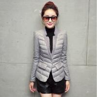 20冬装外套修身轻薄棉衣女短款韩版新款显瘦小棉袄女士羽绒