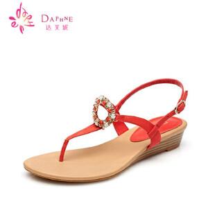 Daphne达芙妮 夏季凉鞋女鞋凉鞋青年女1015303019