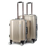 时尚男女20寸行李箱 男女旅行万向轮款箱包ABS+PC拉杆箱