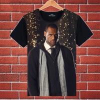 夏装篮球球星骑士詹姆斯詹皇小皇帝3D短袖T恤球衣詹姆斯球衣
