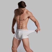 一次性内裤男女旅行平角五条莫代尔旅游非纸免洗短裤10条 M (80-100斤)