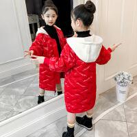 儿童棉衣2018冬季新款中大童水洗皮厚款女孩外套洋气棉袄