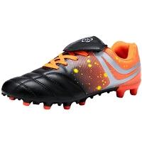 足球鞋男搭扣tf�L��和��L�球鞋小�W生青少年男童人造草地女童鞋