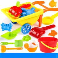 儿童海边沙滩玩具车玩沙挖沙漏套装大号宝宝铲子决明子男女孩玩具