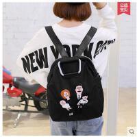 新款背包女双肩双肩包女韩版学院风包包时尚休闲女包可礼品卡支付
