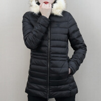adidas 阿迪达斯 三叶草女子连帽保暖羽绒服 CE2356