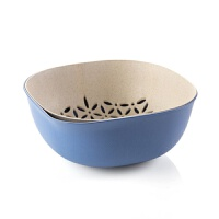 塑料双层沥水篮洗菜盆厨房洗菜篮子客厅果盘家用创意水果盆