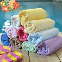 【支持礼品卡】毛巾竹浆竹纤维毛巾竹炭吸水洁面巾儿童婴儿洗澡洗脸巾i2w