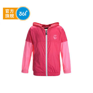 361° 361度童装 春装女童外套女童梭织薄外套儿童外套 K67132031