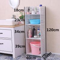 卫生间置物架落地式浴室洗手台脸盆收纳架厕所洗漱用品多层收纳架