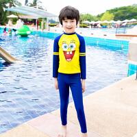 新款�和�分�w泳衣男女童����游泳衣 舒�m��水服海�d����泳衣